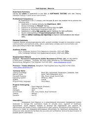 qa resume summary photo store senior quality assurance download