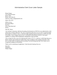 Cover Letter For Medical Office  cover letter job description of