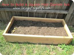 how to build a vegetable garden box gardening ideas