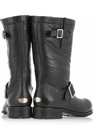 leather biker boots jimmy choo leather biker boots my color fashion