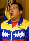 ... mit seinem kolumbianischen Amstkollegen Juan Manuel Santos. - 8115008-12a267c86c032ec533521f02d954b213