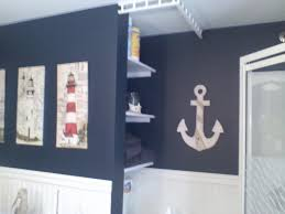 Beach Bathroom Decor Ideas Colors Stunning Nautical Bathroom Wall Decor Blue Nautical Bathroom Image