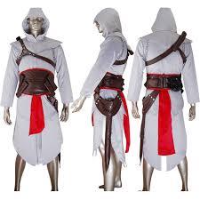 anime costumes for halloween altair cosplay costume jacket hoodie essential halloween costume