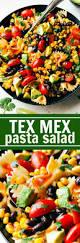 Pasta Salad Ingredients Easy Tex Mex Pasta Salad Chelsea U0027s Messy Apron