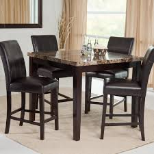 Palazzo Piece Counter Height Dining Set Hayneedle - Counter height kitchen table