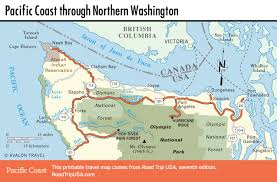 Map Of Northeast United States by Pacific Coast Highway Road Trip Usa