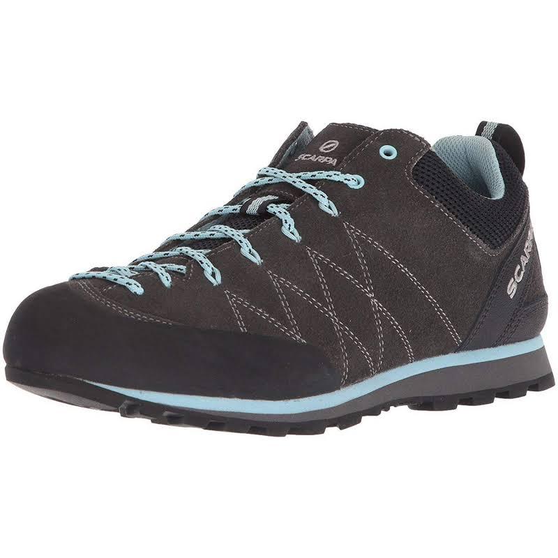Scarpa Crux Approach Shoes Shark/Blue Radiance Medium 39 72053/352-SrkBlurad-39