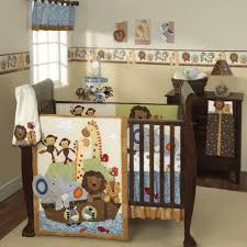 Monkey Crib Set Baby Nursery Divine Unisex Baby Nursery Room Design Using