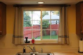 Kitchen Drapery Ideas Kitchen Kitchen Door Curtain Ideas Large Kitchen Curtains At