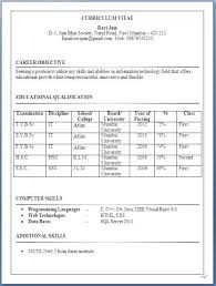 Resume Samples For Bba Freshers   Resume Maker  Create     Template net