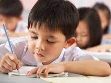 Once your child has mastered writing the letters and begins to improve her spelling skills  she can take the next step in  st grade and write longer pieces