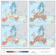 Hydrology Map Meteorological And Hydrological Droughts U2014 European Environment Agency