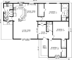 1 Bedroom Modular Homes Floor Plans by Home Yorktown 92555k Kingsley Modular Floor Plan Fairmont