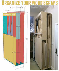 Rolling Wood Storage Rack Plans by Lumber Storage Cart On Wheels To Organize All That Scrap Wood For