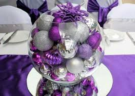Silver Centerpieces For Table Colorful Christmas Table Decor Ideas 25 Bright Holiday Table