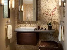 Decorating Half Bathroom Ideas Fabulous Modern Half Bathroom Colors Trendy Contemporary Guest
