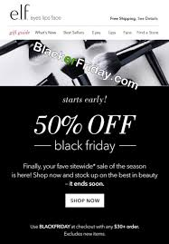 target black friday 2017 deals only in store e l f cosmetics black friday 2017 sale u0026 deals blacker friday