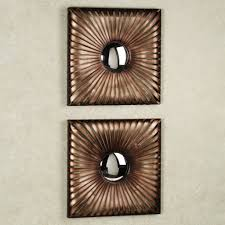Brass Home Decor by Home Decoration Fabulous Contemporary Mirror Wall Art And