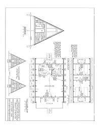 Blueprints Of Homes Free A Frame Cabin Plans Blueprints Construction Documents Sds Plans