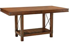 Red Hook Pecan Rectangle Counter Height Dining Table Dining - Counter height kitchen table