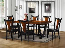Dining Room Table Sets Cheap Cherry Wood Dining Room Table Amazoncom The Room Style 7 Piece