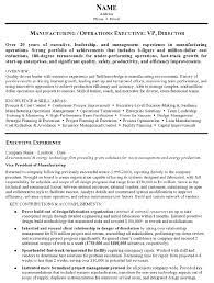 Aaaaeroincus Goodlooking Resume Sample Manufacturing And Operations Executive Resume With Delectable Resume Sample Operations Executive Page