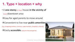 IELTS P   describe your dream house