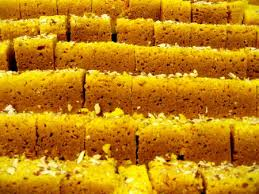 Traditional south indian sweet- mysore pak