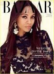 Zoe Saldana Covers 'Harper's Bazaar Arabia' | zoe saldana harpers