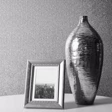 muriva silver wallpaper sparkle glitter shimmer metallic brick