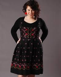 sukienka dla puszystych