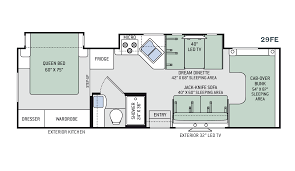Fleetwood Bounder Floor Plans by New Or Used Class C Motorhomes For Sale Rvs Near Charleston