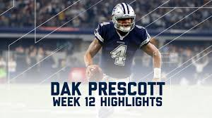 thanksgiving day cowboys game dak prescott u0027s 2 td day redskins vs cowboys nfl week 12