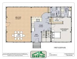 open floor plan colonial homes house plans pinterest floor open