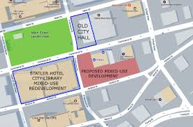 Downtown Dallas Map by Centurion American Plans Mixed Use Project In Main Street District
