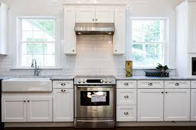 Remodeled Kitchens With White Cabinets by Kitchen Backsplash Unique Subway Tile Kitchen Backsplash White