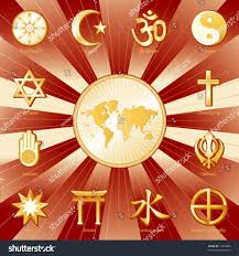 Religions Of The World Map by Religions Faiths World Map Buddhism Islam Stock Vector 17653066