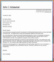 cover letter job sample   examples of job cover letters