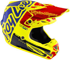 troy lee designs motocross helmet troy lee designs se4 factory carbon yellow motocross helmets