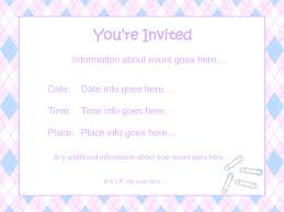 Invitation Cards For Baby Shower Templates Template Free Baby Shower Invitation Templates