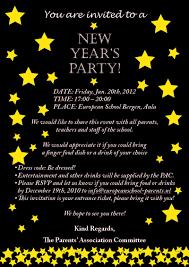 party invitations elegant new year party invitation wording ideas