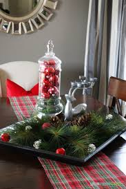 pictures of christmas centerpieces for table simple christmas