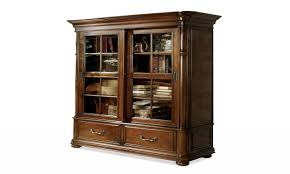 antique oak bookcase with glass doors custom built in bookcase ideas example of a built amazing oak