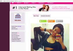 The fast paced new feature creates sparks between mixed race singles at the interracial dating site InterracialMatch com PR Web