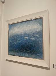 Serenity Blue Paint Reflections U201d With Aqua Nature Paintings Sumgyeojin Gem