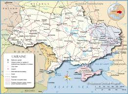 Map Of Russia And Europe by Political Map Of Ukraine Nations Online Project