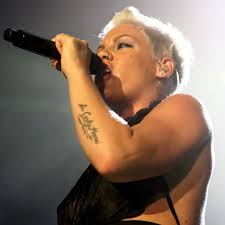 Celebrity Tattoos - Pink