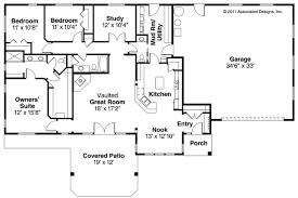 open floor plan ranch home plans