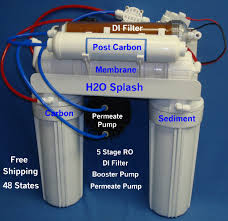 osmosis 5 stage di booster pump permeate pump without tank or