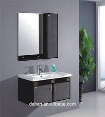 jisheng wall corner metal aluminium edge bathroom vanities